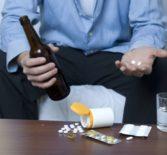 Смешивание наркотиков с алкоголем